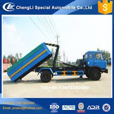 100 Hook Trucks For Sale Lift Hydraulic Arm Roll New Coming Swing Arm Garbage Bin