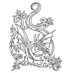 Innovative Free Dragon Coloring Pages Colorings Design Ideas