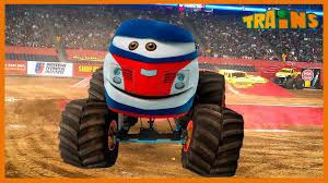 Monster Trucks : 🚘 : Kids Monster Truck / Cartoon For Kids / New ... 100 Bigfoot Presents Meteor And The Mighty Monster Trucks Toys Truck Cars For Children Cartoon Vehicles Car With Friends Ambulance And Fire Walking Mashines Challenge 3d Teaching Collection Vol 1 Learn Colors Colours Adventures Tow Excavator The Episode 16 Tv Show Monster School Bus Youtube