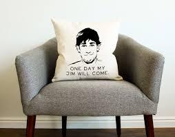 Jim Halpert Halloween Facebook by The Office Tv Show Jim Halpert Quote Pillow Home Decor The