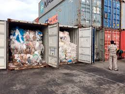 100 Shipping Containers California Cambodia To Send Plastic Waste Back To The US And Canada