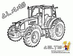 Coloriage Tracteur à Imprimer Gratuit SuperColoriage In 2019