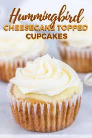 Hummingbird Cheesecake Topped Cupcakes New Pin 1