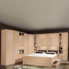 wiemann luxor 3 4 schlafzimmer doppelbett mit bettkasten bettbrücke mit beleuchtung und anbauschrank