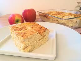 gesunder kuchen zum frühstück apfel quark kuchen mit tollen