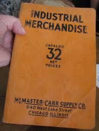 McMaster Carr Catalog 32 1931 Ebay Auction 161175137347 12 17 13 650