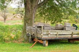 Download Old Farm Wagon Or Trailer Stock Photo Image Of Rustic