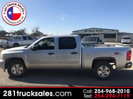 100 281 Truck Sales Used 2010 Chevrolet Silverado 1500 LT1 Crew Cab 4WD For Sale