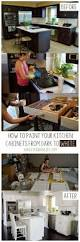 Rustoleum Cabinet Painting Kit by Best 25 Rustoleum Cabinet Transformation Ideas On Pinterest