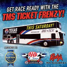 Texas Motor Speedway's Tweet -