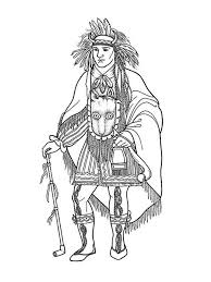 Native American Boy Coloring Pages For Boys 5