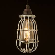 light bulb safety cage lighting design ideas