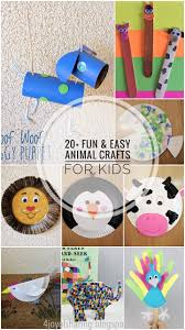 20 Fun and Easy Animal Crafts For Kids