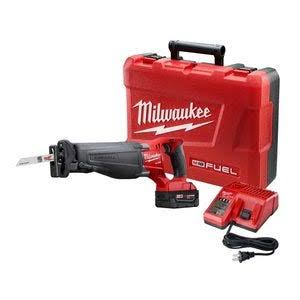 Milwaukee M18 Fuel Sawzall Reciprocating Saw Kit with Battery