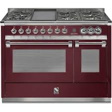 cuisiner au gaz ou à l électricité piano de cuisson steel ascot 120 électrique gaz four vapeur