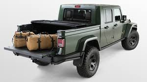 100 Brute Jeep Truck AEV DoubleCab Wrangler Pickup Gets Land RoverLevel Luxury