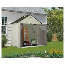 suncast cascade 7 ft 3 in x 7 ft 4 5 in resin storage shed