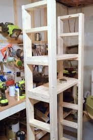 paint storage shelf made with 2x4s paint storage storage