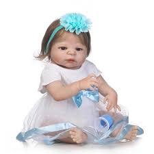 Fachel Reborn Baby Doll Realistic Baby Dolls Vinyl Silicone Babies