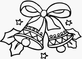 Christmas Bell Ornament Drawing