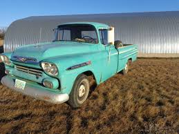 1959 Chevrolet 9320 2wd Long Box Truck, 6 Cyl, 3 Spd Trans On Tree ... 1959 Chevy Truck 195559 Chevy Trucks Pinterest Front Right Side Maguiredonny Small Trucks Awesome 1955 Enthill History 1918 Used Chevrolet Apache Koolant At Find Great Cars Serving Ramsey Apache Pickup 350 Engine Rebuild The Barn Duffys Classic 2014 Ousci Recap Wes Drelleshaks Video A Clean Green Pickup To Drool Over Hot Rod Network File1959 Pickupjpg Wikimedia Commons
