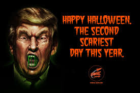 Snickers Halloween Commercial by Donald Trump U0026 Hillary Clinton Make For The Second Scariest Day Of