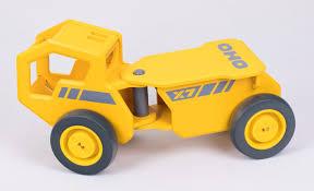 100 Construction Trucks Moover OHO Yellow Truck Wooden Vehicle