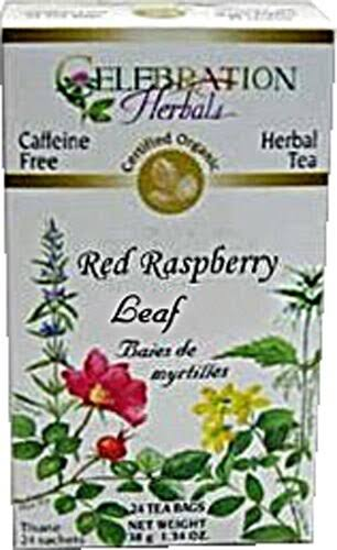 Celebration Herbals Organic Tea - Red Raspberry Leaf, 50g
