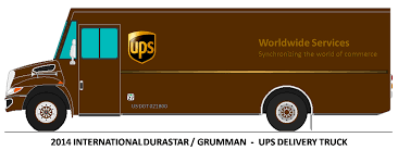 Free Ups Truck Icon 359633 | Download Ups Truck Icon - 359633