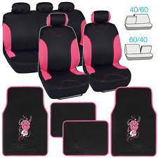 Betty Boop Seat Covers And Floor Mats by Flower Car Seat Covers Ebay