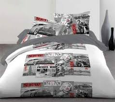 marilyn monroe printed bed linen home decor trends