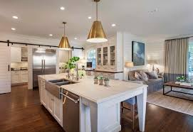 circa lighting kitchen transitional with brass pendant lights