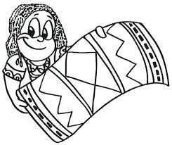 Kwanzaa Coloring Page Pages The Girl Happy A For