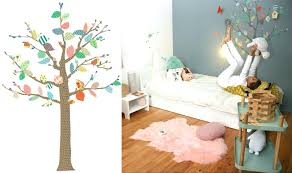 chambre arbre arbre deco chambre bebe daccoration chambre enfant sticker mural