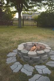 DIY Fire Pit For The Backyard • Our House Now A Home Low Maintenance Simple Backyard Landscaping House Design With Patio Ideas Stone Home Outdoor Decoration Landscape Ranch Stepping Full Image For Terrific Sets 25 Trending Landscaping Ideas On Pinterest Decorative Cement Steps Groundcover Potted Plants Rocks Bricks Garden The Concept Of Designs Partial And Apopriate Fire Pit Exterior Download