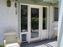 Patio Pet Door French Doors With A Door 45 Lockable Patio Pet