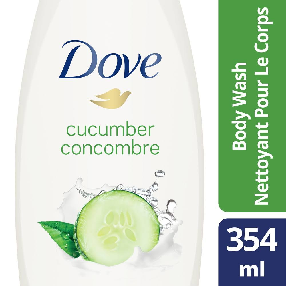 Dove Go Fresh Body Wash - 354ml, Cucumber and Green Tea