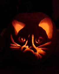 Cheshire Cat Pumpkin Carving Template by 100 Cat Halloween Pumpkin Stencils When Life Gives You