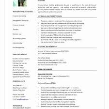 Financial Advisor Resume Samples Save Finance Template New Example