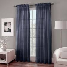 Blue Sheer Curtains 96 by Buy Indigo Curtain Panels From Bed Bath U0026 Beyond