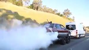 Burnouts On A Moving Trailer On The Hume Highway   The Courier The Monster On Wheels Serving Mexican Food Burnout Truck Kj Motsports Drag Racing Burnout In The Waterbox Chevy Luv Pickup Bad Lbz Duramax Does A Huge Smokey 1st3rd Gear Black Insane 65 Rat Rod Burnout Rats Rides Pinterest Epic Footages From Hpt Shootout 2014 Watch A 72 Year Old Viper Powered Fire Truck Doing Massive Contest Kicks Off George Geer Memorial Car Show Farmtruck Wreck Summernats Competion Torquetube Video 8 Wheel In Dump Diesel Army Double Shelby 1000 F350 While Towing Super Sa Trucks King 2015 High Country Coub Gifs With Sound