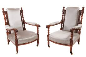 FINE PAIR OF ANTIQUE CARVED OAK ARMCHAIRS (c. 1880 England) From ... Vintage Oak Armchairs By Borge Mogsen For Fredericia Set Of 6 Unique Pair Vienna Arts And Crafts Movement For William Iv Gothic C 1835 England From Bas Van Pelt 1930s 2 Sale At Pamono Forest Ldon Danish Soro Stolefabrik 1960s Guillerme Chambron Votre Maison On Viyet Designer Fniture Seating Brownstone Ibizia Sepia Armchair Jack Der Molen Vans Mid