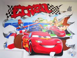 chambre enfant cars spraydechezvous cars ethan spray de chez vous aerographie et graff