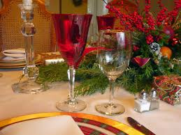 Spode Christmas Tree Wine Glasses by Dreams And Epiphanies December 2014
