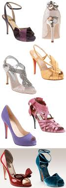Bold Bright And Blingy Statement Making Wedding Shoes