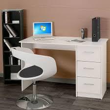 bureau c discount essentielle bureau classique blanc l 121 cm panneaux de