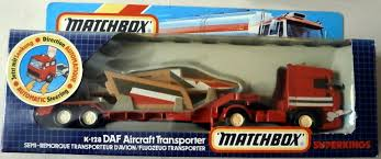 Image - DAF Aircraft Transporter (K-128) In Box.JPG | Matchbox Cars ... Diecast Toy Snow Plow Models Mega Matchbox Monday K18 Articulated Horse Box Collectors Weekly Peterbilt Tanker Contemporary Cars Trucks Vans Moosehead Beer Matchbox Kenworth Cab Over Rig Semi Tractor Trailer Just Unveiled Best Of The World Premium Series Lesney Products Thames Trader Wreck Truck No 13 Made In Amazoncom Super Convoy Set 4 Ton Fire Sandi Pointe Virtual Library Collections Buy Highway Maintenance 72 Daf Xf95 Space Jasons Classic Hot Wheels And Other Brands 1986 Mobile Crane Dodge Crane 63 Metal