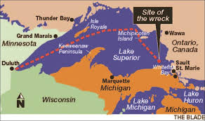 Where Did The Edmund Fitzgerald Sank Map by 28 Where Did The Edmund Fitzgerald Sank Map Did Rogue Waves