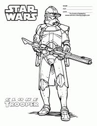 Source Azcoloringcom Star Wars Clone Trooper Coloring Pages With Regard To