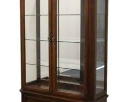 Pulaski Display Cabinet Vitrine by Curio Cabinet Light Etsy